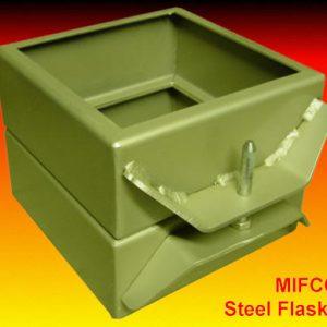 030900 steel flask