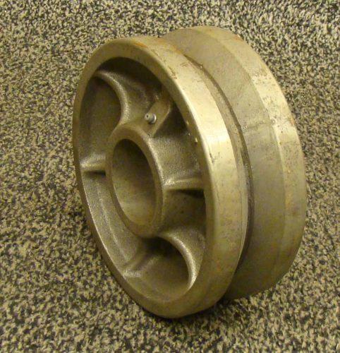 8 inch cast iron wheel